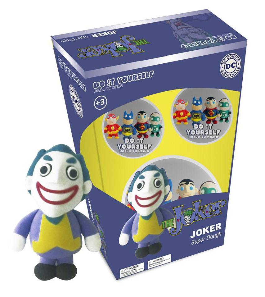 DC Comics D!Y Super Dough Modelling Clay The Joker