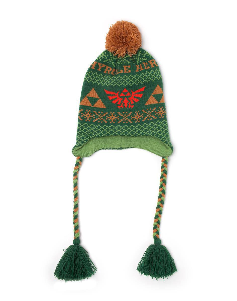 The Legend of Zelda Ski Beanie Hyrule Warrior Laplander
