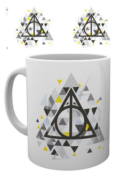 Harry Potter Mug Deathly Pixels
