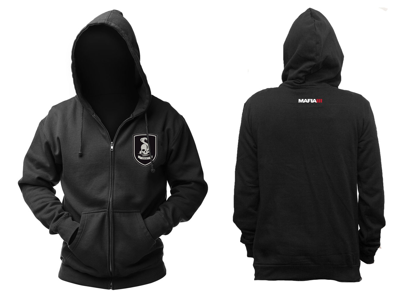 Mafia III Hooded Sweater 223rd Size L