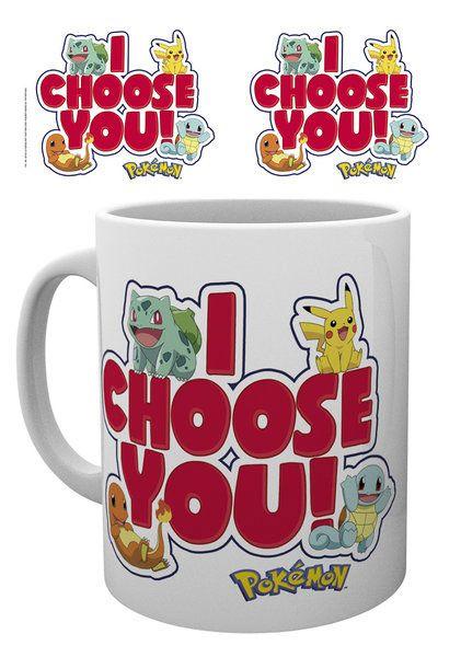 Pokemon Mug I Choose You