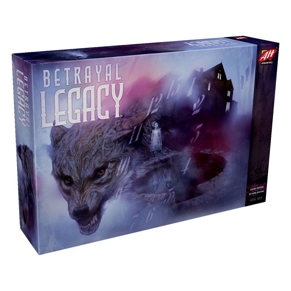 Avalon Hill Board Game Betrayal Legacy english