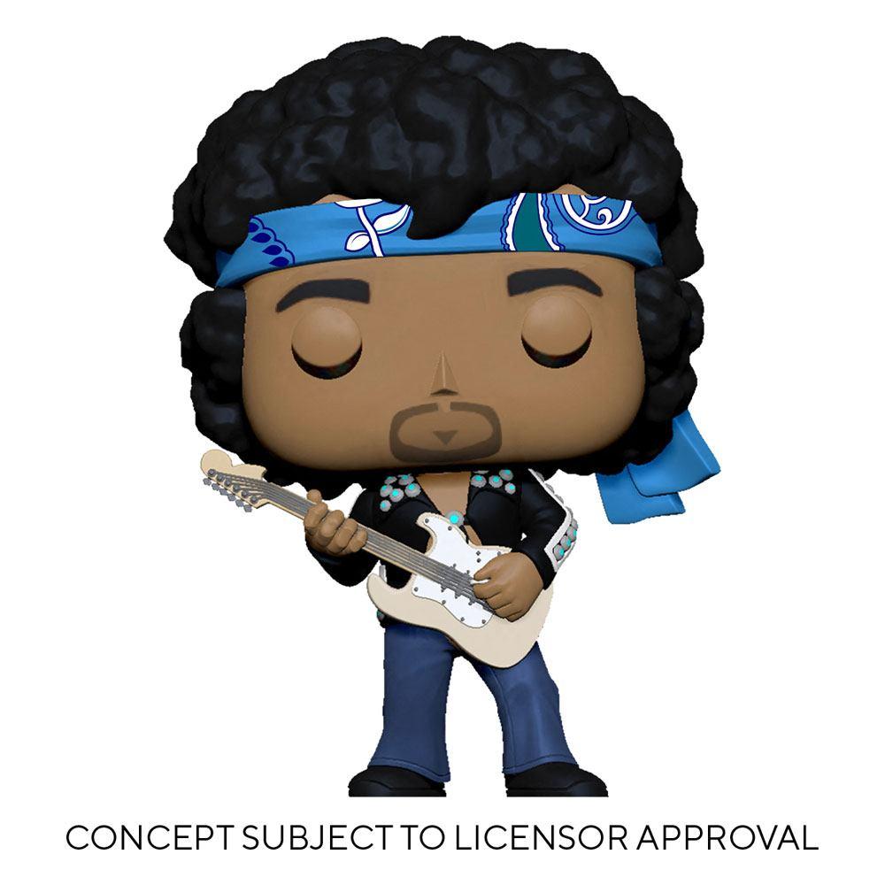 Jimi Hendrix POP! Rocks Vinyl Figure Jimi Hendrix (Live in Maui Jacket) 9 cm