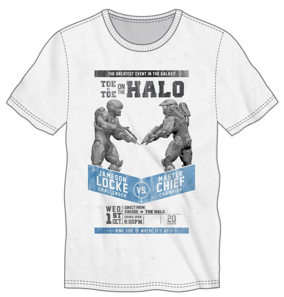 Halo 5 T-Shirt Fight Poster Size XL
