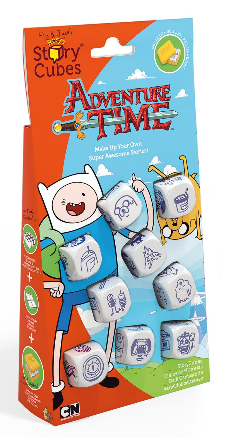 Adventure Time Dice Game Rory's Story Cubes Storyworlds