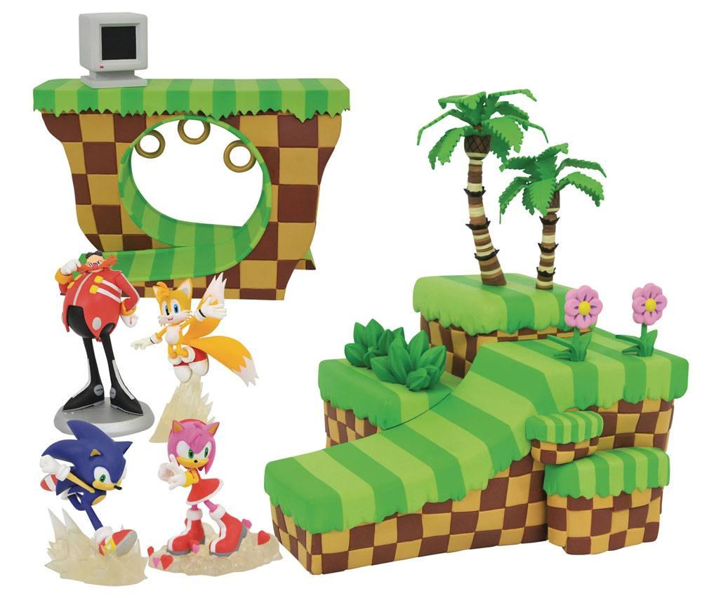Sonic the Hedgehog Playset Dioramas Assortment (6)