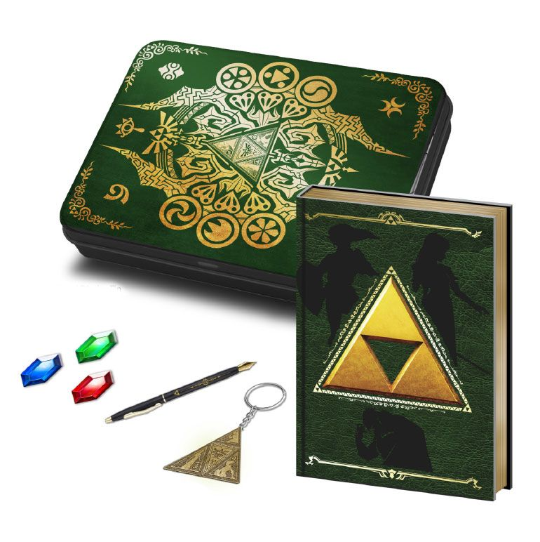 Legend of Zelda Premium Stationery Tin Box Set Triforce