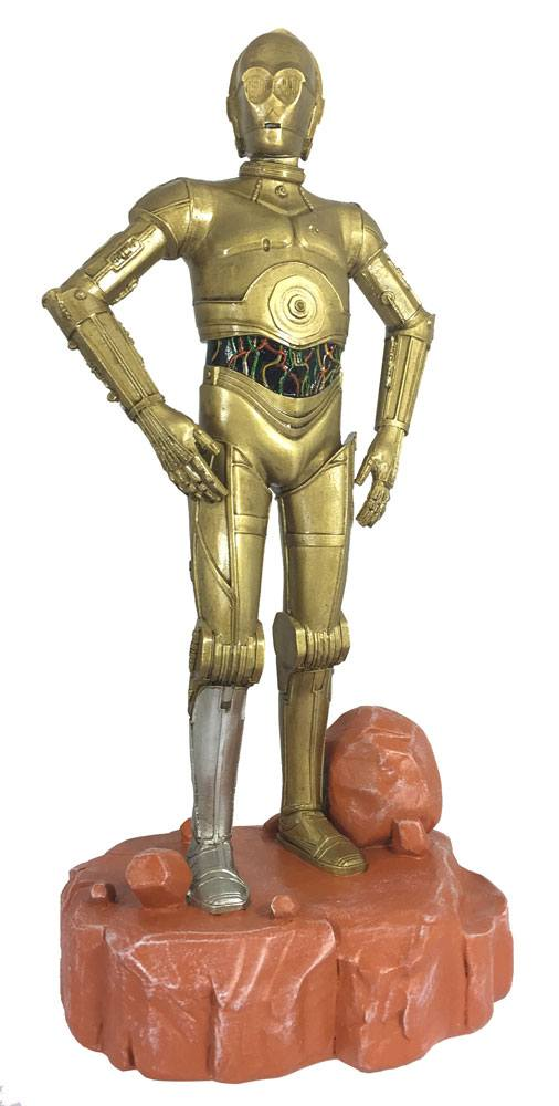 Star Wars Garden Ornament Coloured C-3PO 42 cm