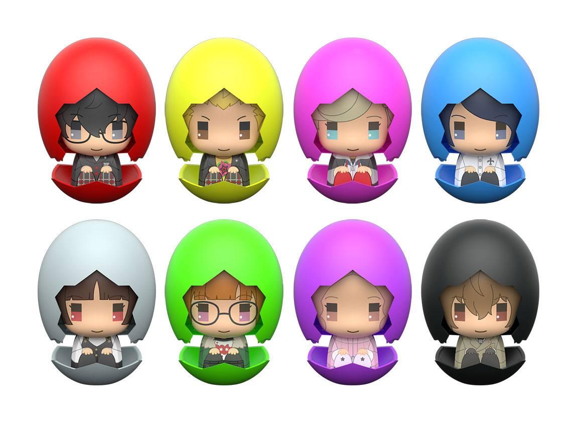 Persona 5 The Animation Piyokuru Mini Figures 6 cm Assortment (8)