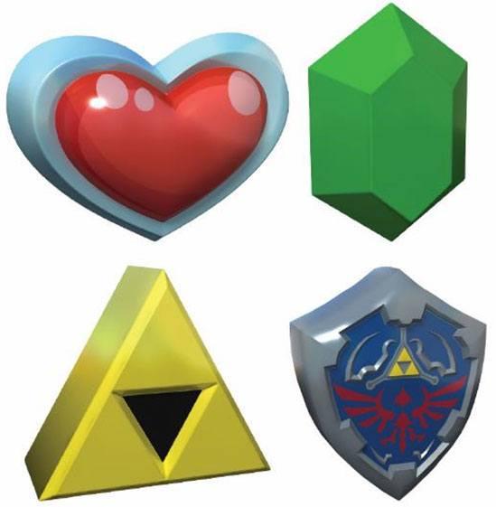 Legend of Zelda 3D Stress Balls 8 cm Display (12)
