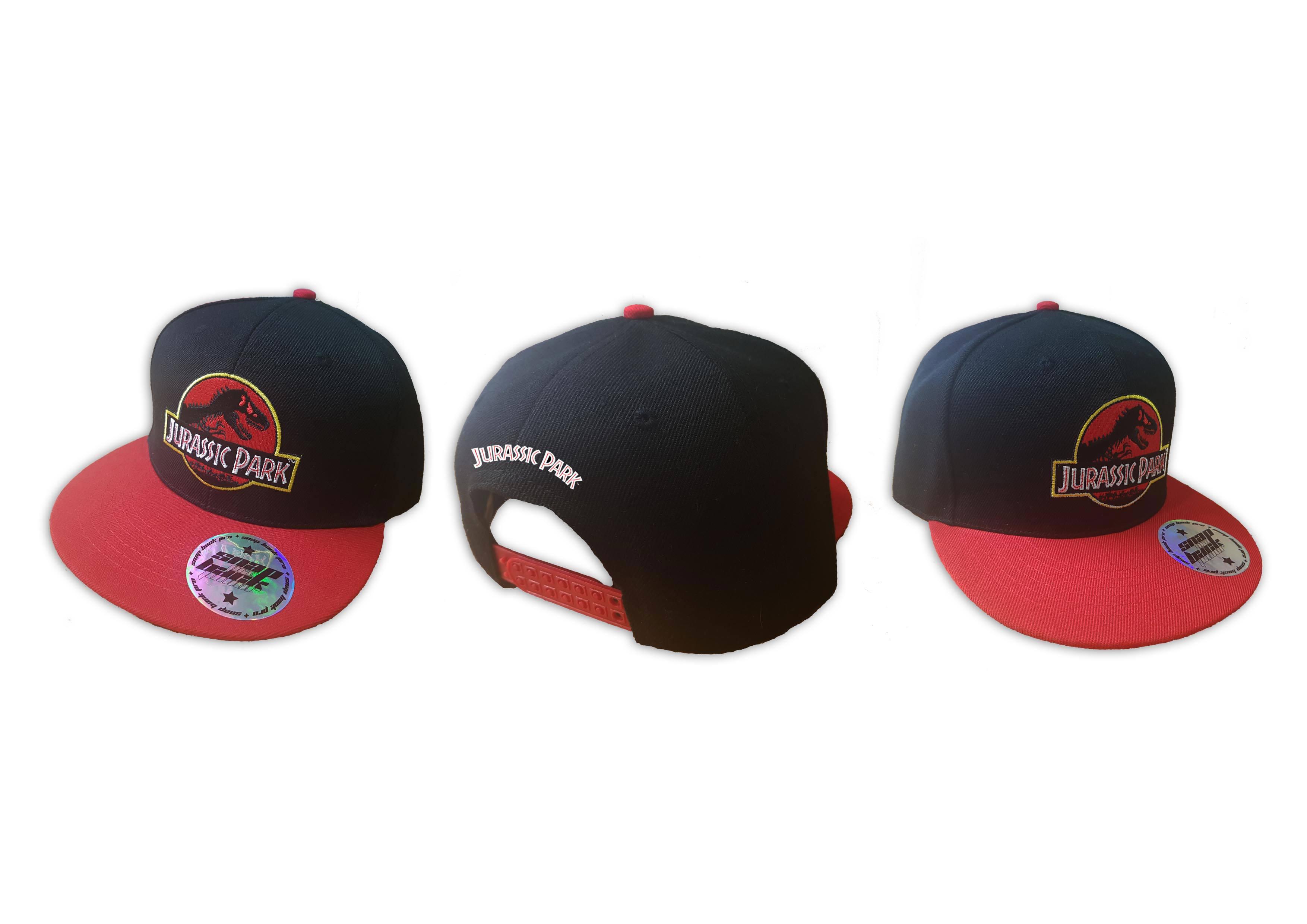Jurassic Park Snap Back Cap Logo