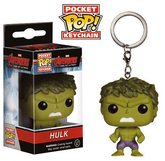 Avengers Age of Ultron POP! Vinyl Keychain Hulk 4 cm