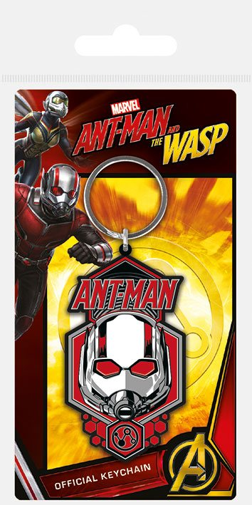 Ant-Man & The Wasp Rubber Keychain Ant-Man 6 cm