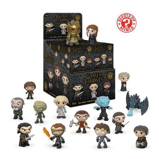 Game of Thrones Mystery Mini Figures 5 cm Display S10 (12)