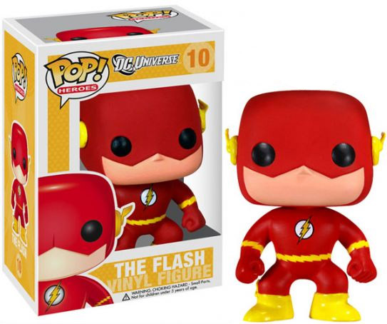 DC Universe POP! Heroes Vinyl Figure Flash 10 cm