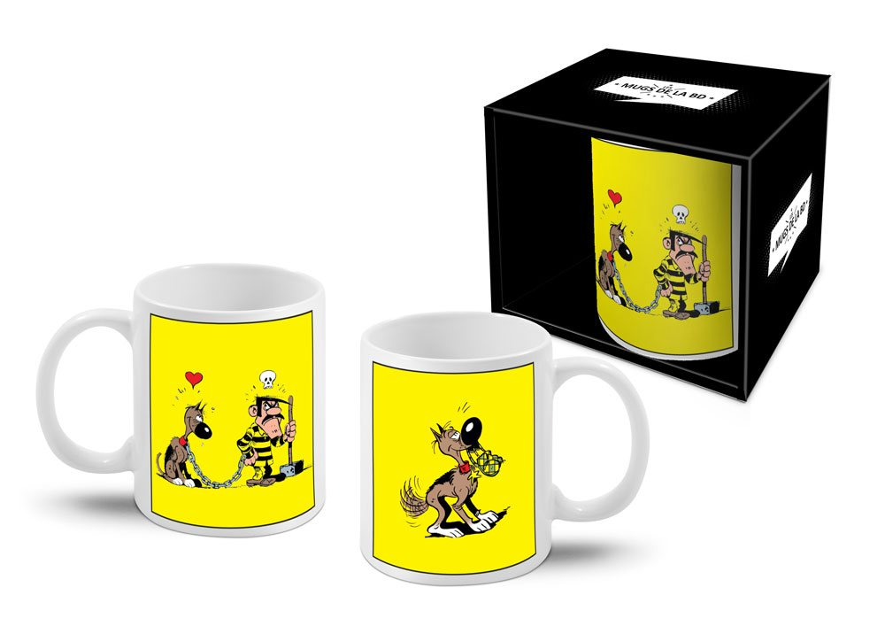 Lucky Luke Mug Dalton & Rantanplan