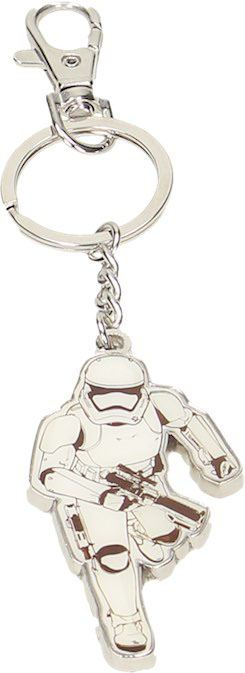 Star Wars Episode VII Metal Key Ring Stormtrooper Running