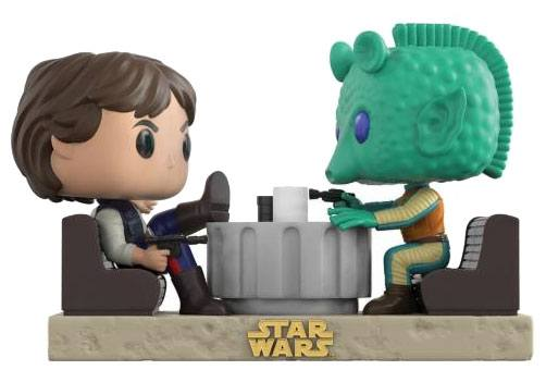 Star Wars POP! Movie Moments Vinyl Bobble-Head 2-Pack Cantina Faceoff 9 cm
