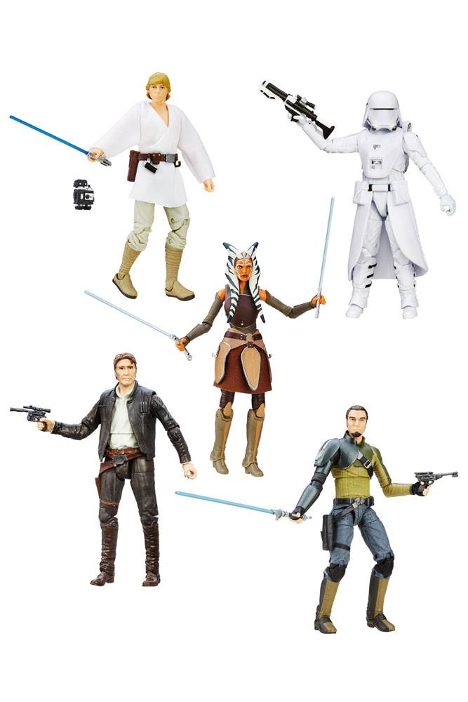 Star Wars Episode VII Black Series Action Figures 15 cm 2016 Wave 2 Revision 2 Assortment (6)