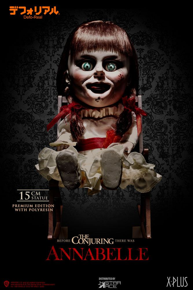 Annabelle (2014) Defo-Real Series Statue Annabelle Premium Edition 15 cm