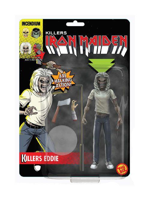 Iron Maiden FigBiz Action Figure Killers Eddie 13 cm