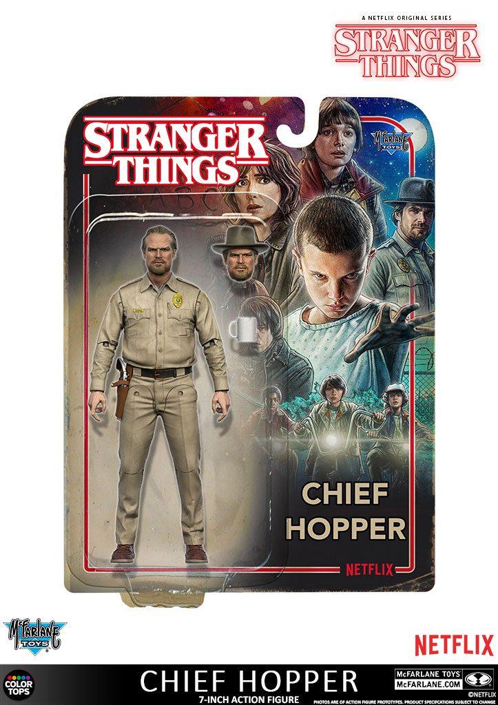 Stranger Things Action Figure Chief Hopper 18 cm
