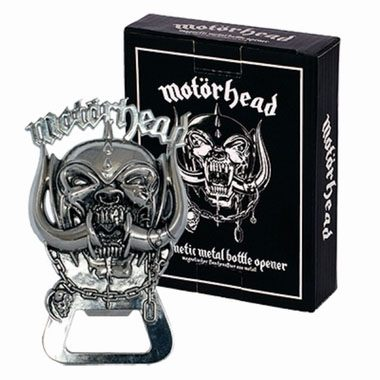 Motörhead Bottle Opener War Pig 3D 10 cm