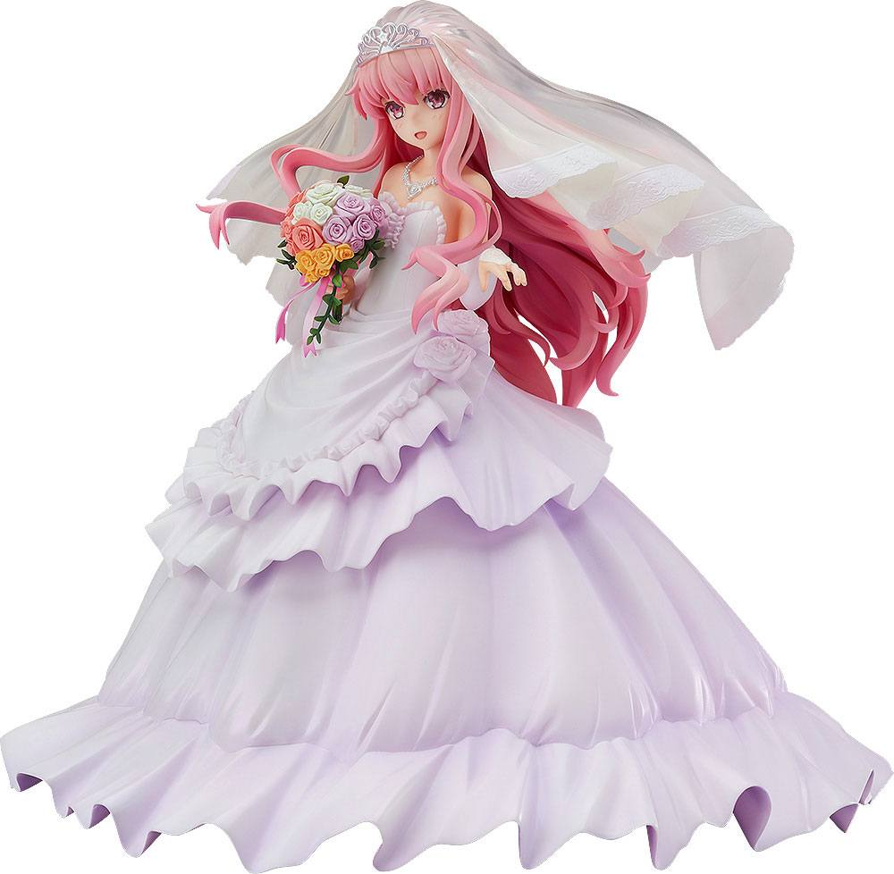 Zero No Tsukaima PVC Statue 1/7 Louise Finale Wedding Dress Ver. 22 cm