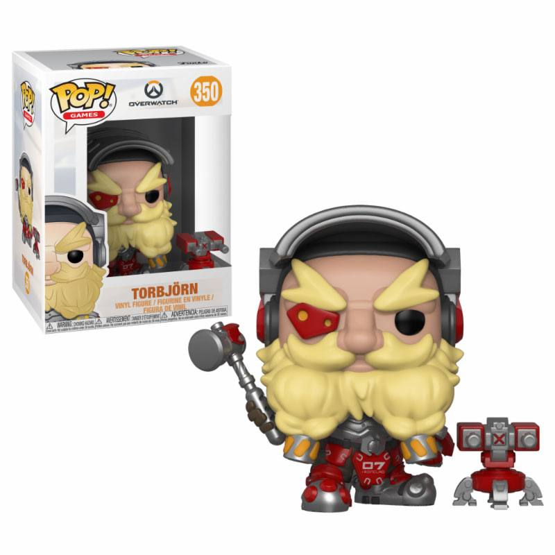 Overwatch POP! Games Vinyl Figure Torbjörn 9 cm