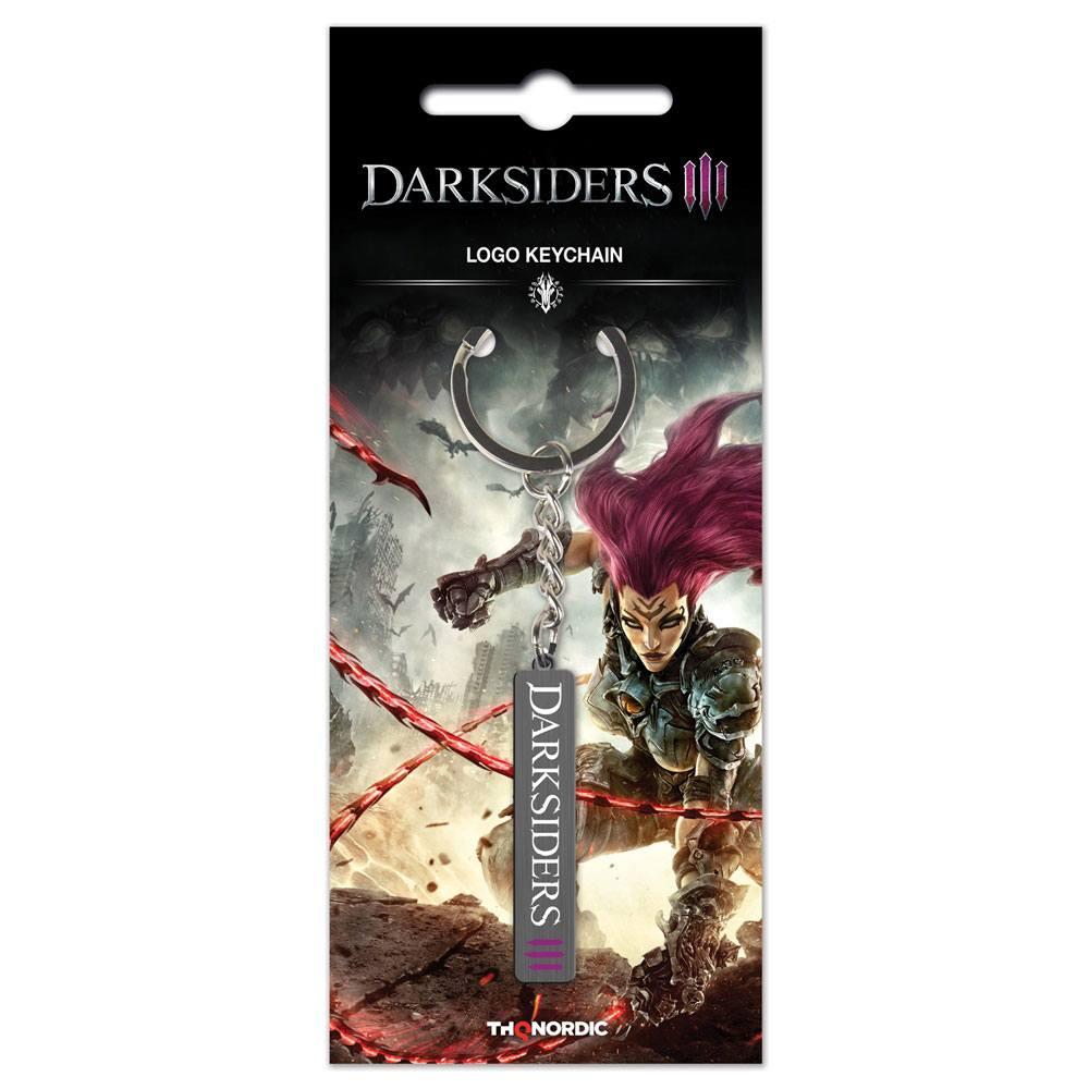 Darksiders III Metal Keychain Logo
