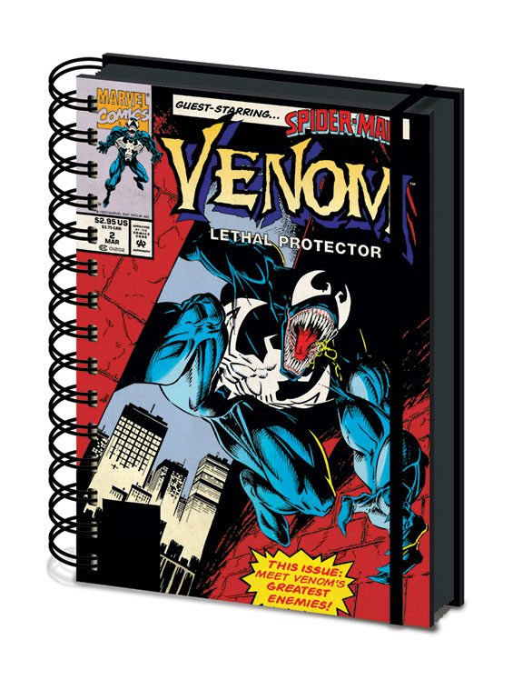 Venom Wiro Notebook A5 Lethal Protector