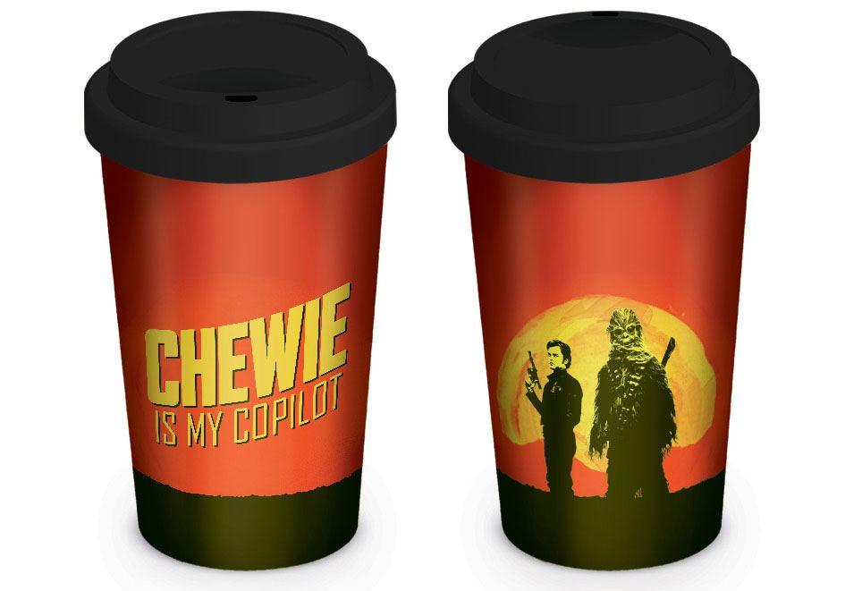 Star Wars Solo Travel Mug Chewie is my Copilot
