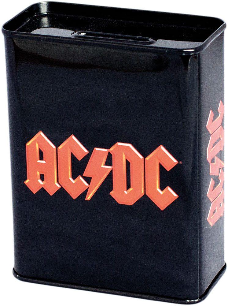 AC/DC Coin Bank Logo