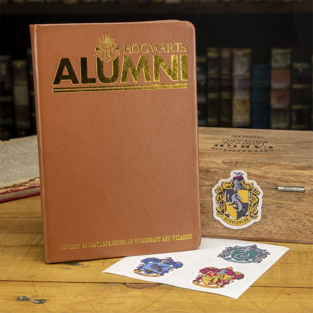Harry Potter Notebook & Sticker Set Alumni