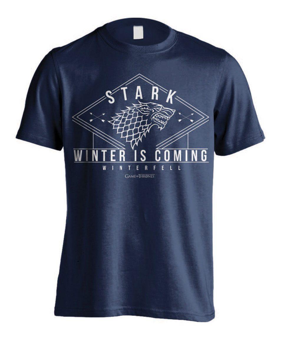 Game of Thrones T-Shirt Stark Winter  Size M