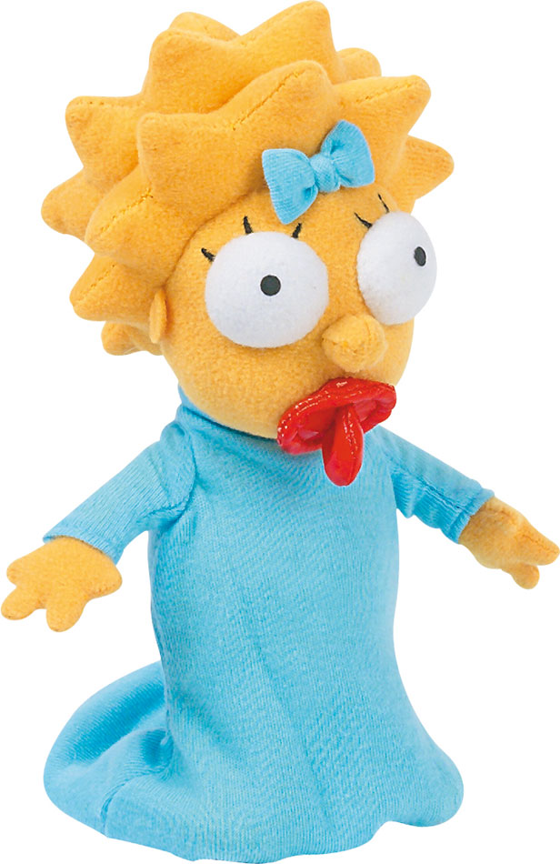 Simpsons Plush Figure Maggie 28 cm