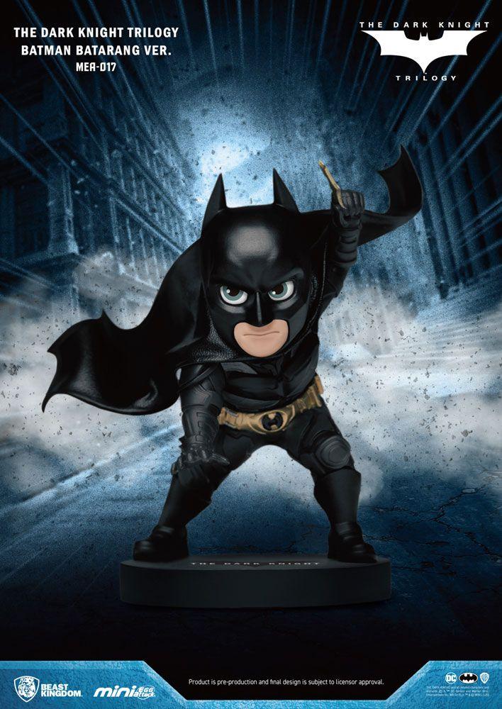 Dark Knight Trilogy Mini Egg Attack Figure Batman Batarang Ver. 8 cm