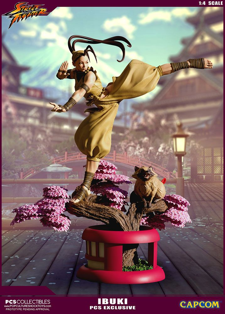 Street Fighter Ultra Statue 1/4 Ibuki PCS Exclusive 66 cm