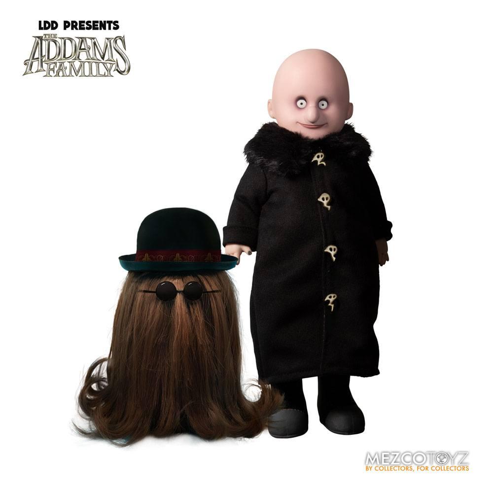 The Addams Family Living Dead Dolls Fester & It 13 - 25 cm