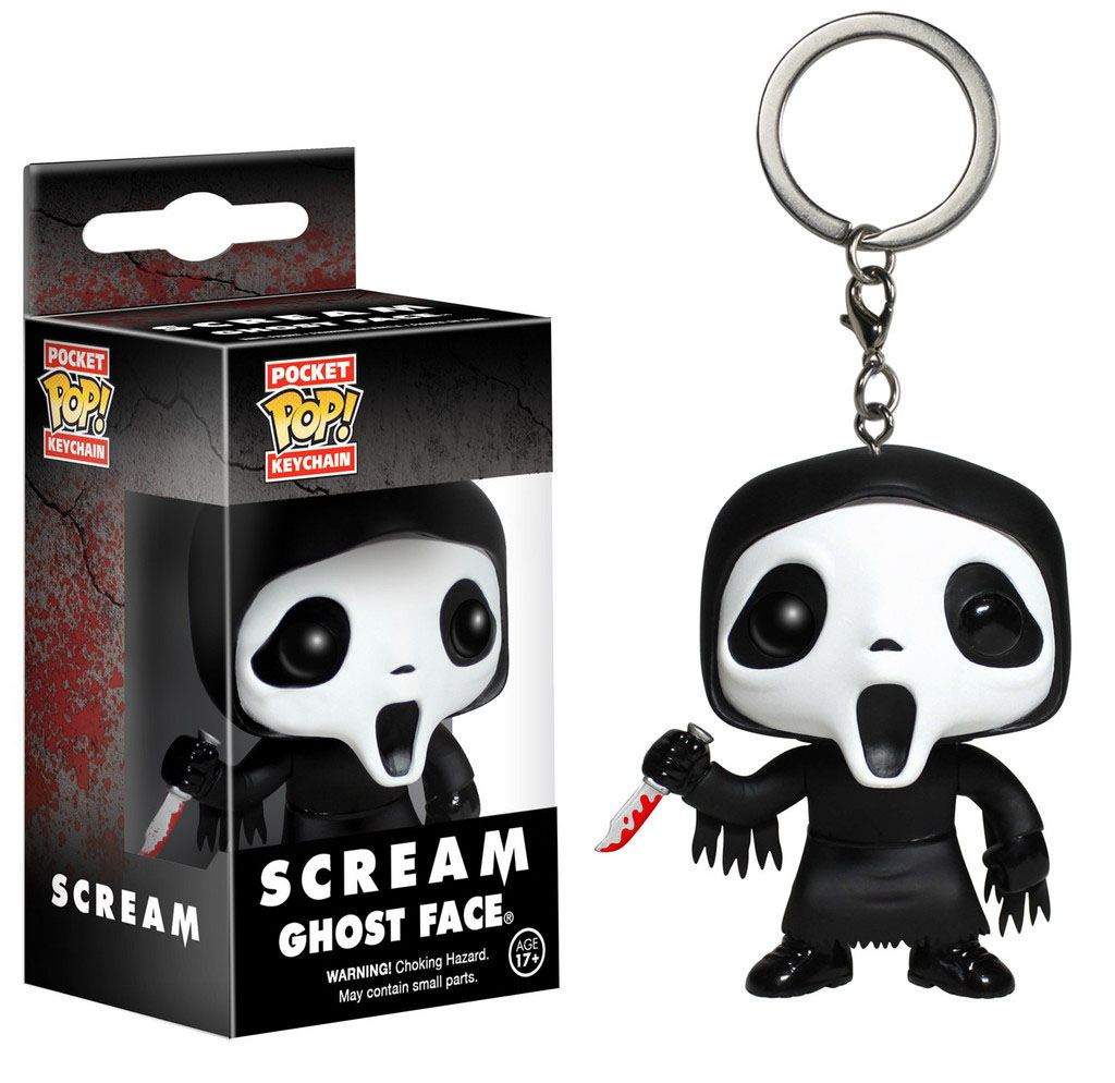 Scream Pocket POP! Vinyl Keychain Ghost Face 4 cm