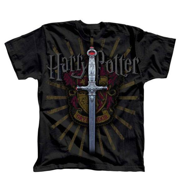 Harry Potter T-Shirt Gryffindor Sword  Size S