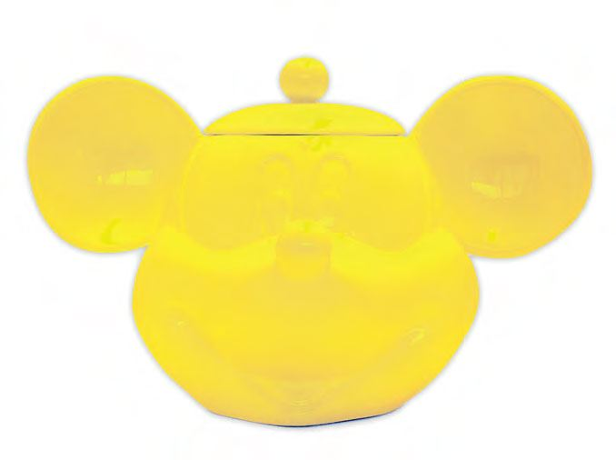 Mickey Mouse 3D Cookie Jar Yellow
