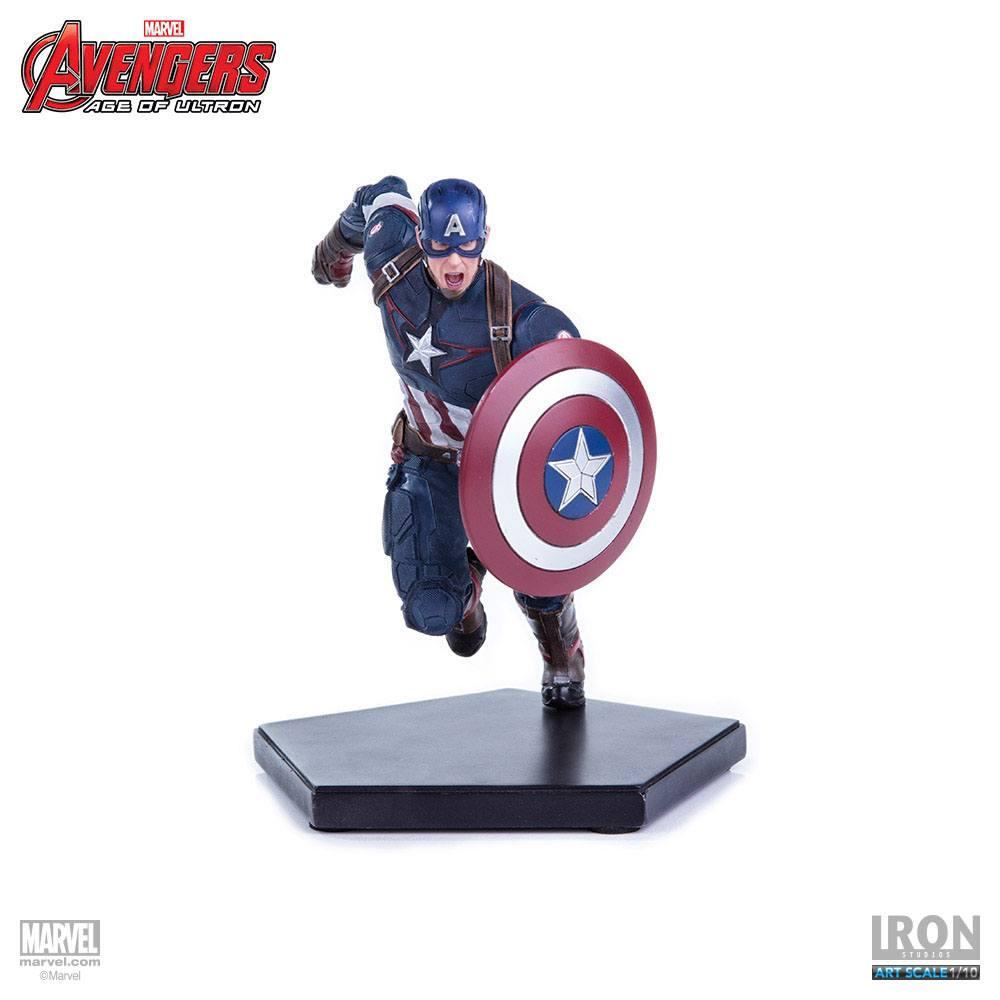 Avengers Age of Ultron Statue 1/10 Captain America 17 cm