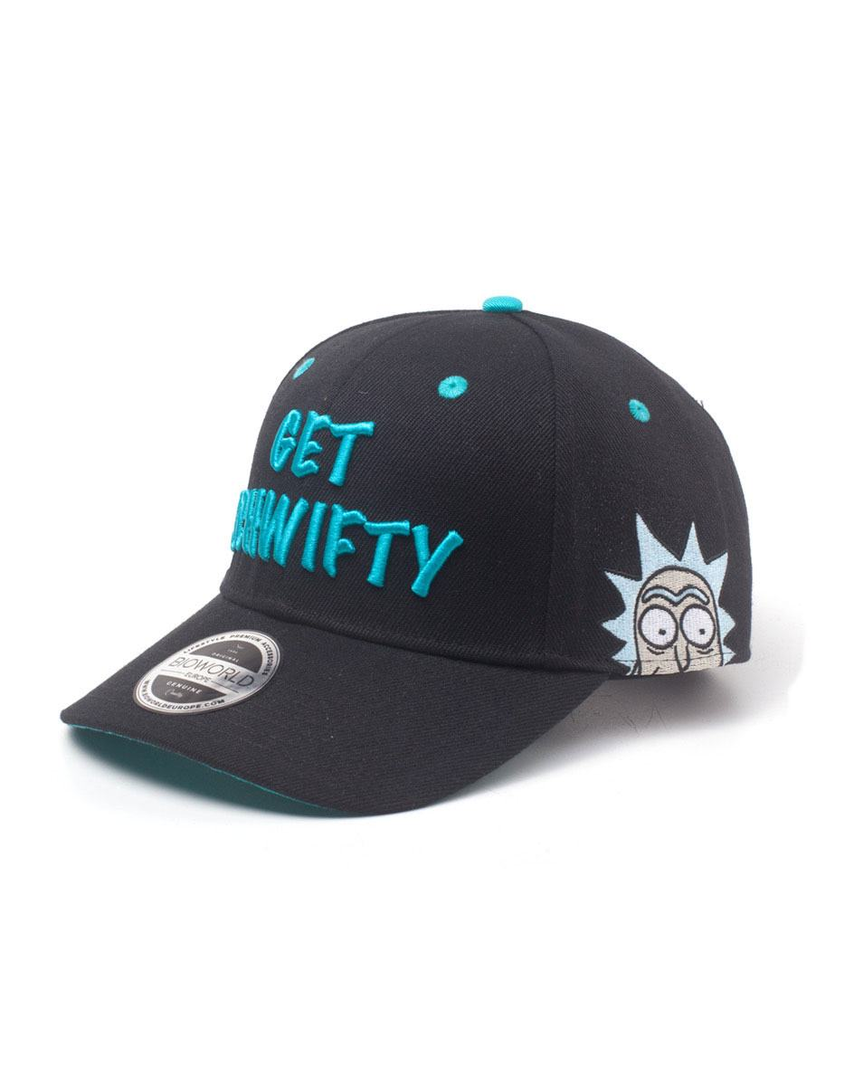 Rick and Morty Baseball Cap Get Schwifty