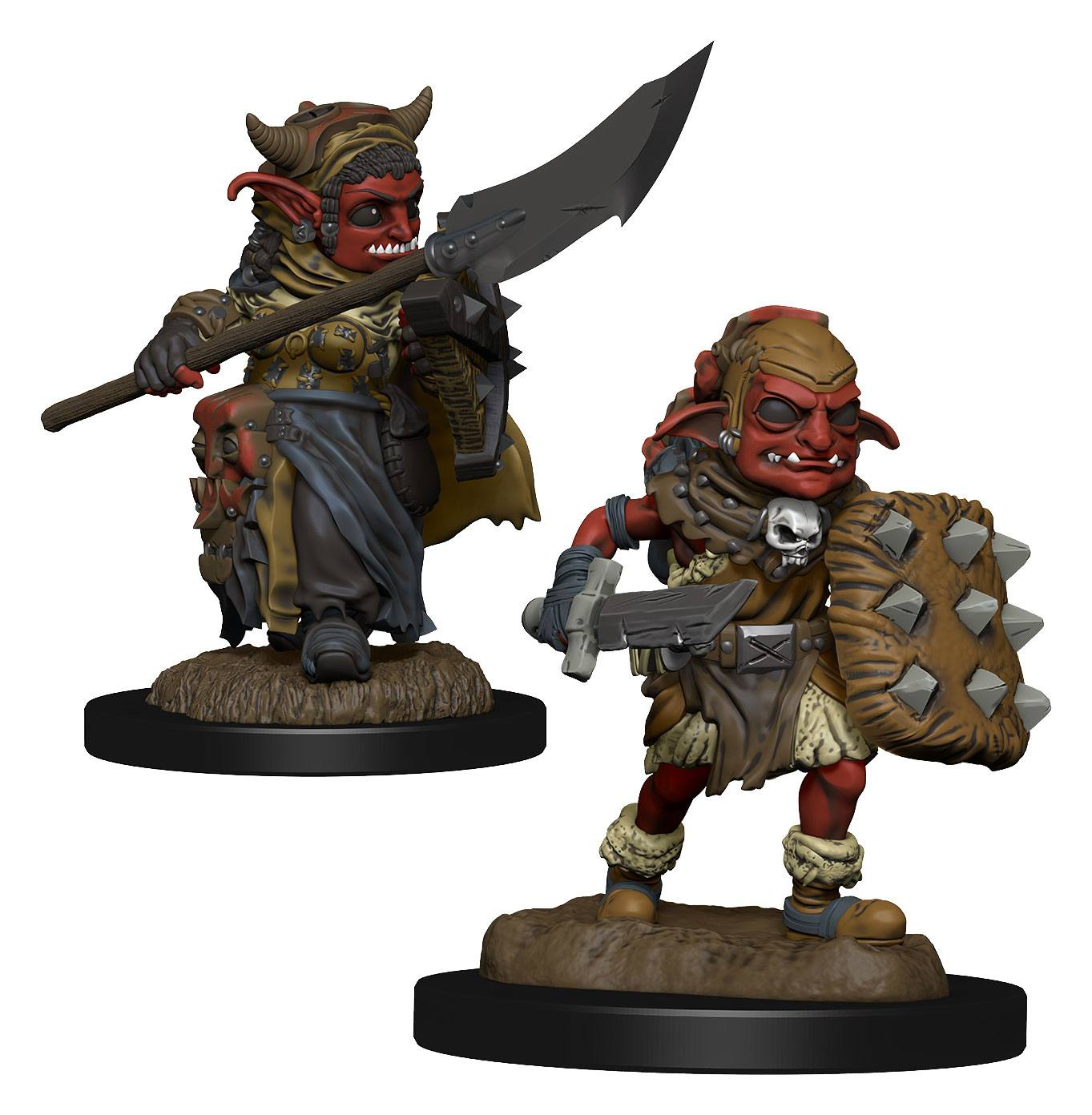 WizKids Wardlings Miniatures Goblin (Female) & Goblin (Male) Case (6)