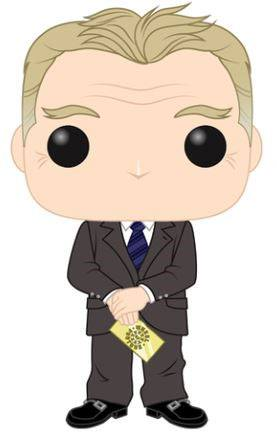 Wheel of Fortune POP! TV Vinyl Figure Pat Sajak 9 cm