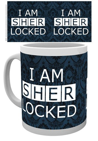 Sherlock Mug Sherlocked Dark