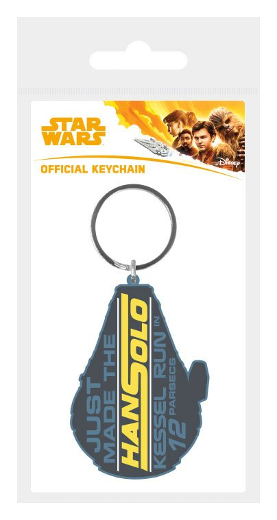 Star Wars Solo Rubber Keychain Kessel Run in 12 Parsecs 6 cm