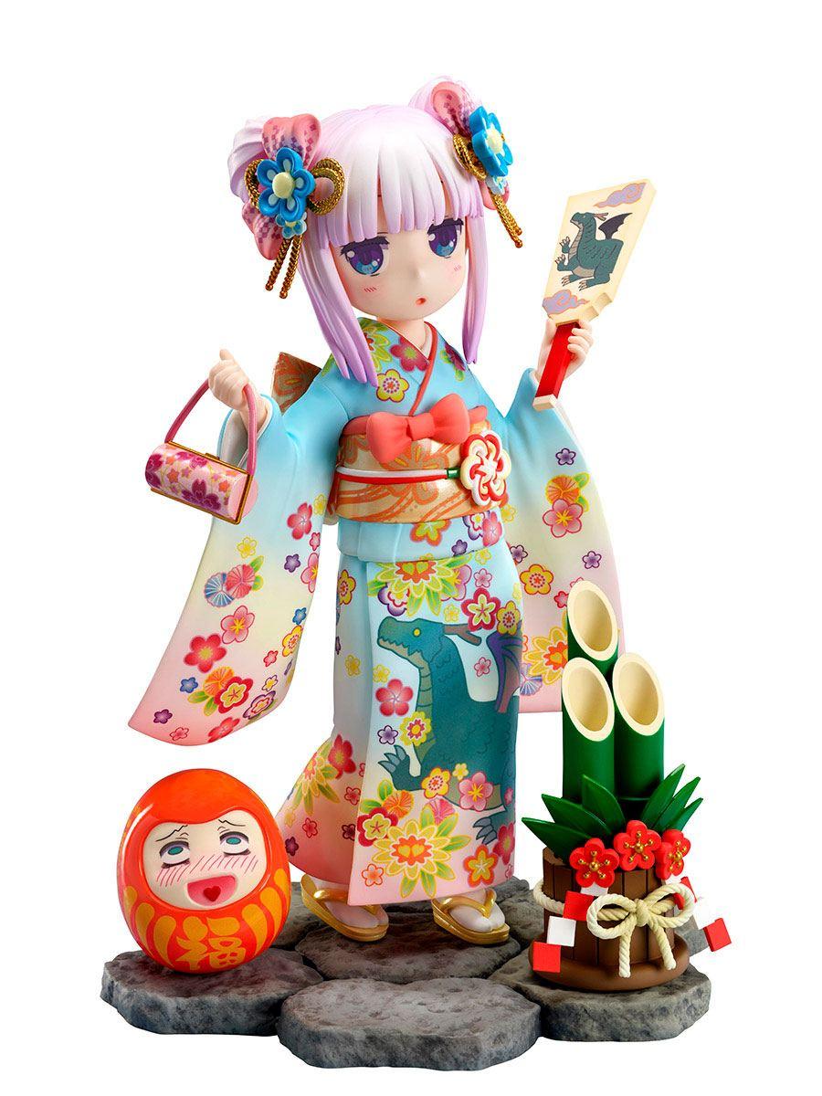 Kobayashi's Dragon Maid PVC Statue 1/7 Kanna Finest Kimono 17 cm