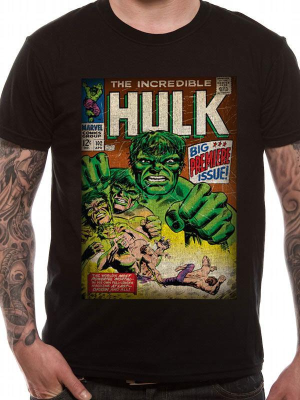 Marvel Comics T-Shirt The Incredible Hulk Size L